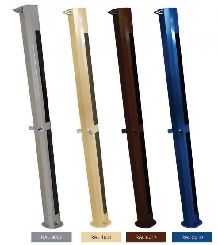 Doccia solare color docce solari repiscine for Obi doccia solare
