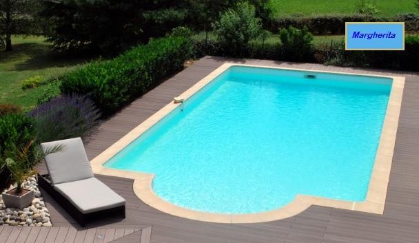 kit piscina margherita 02 mt 8x4 h piscine
